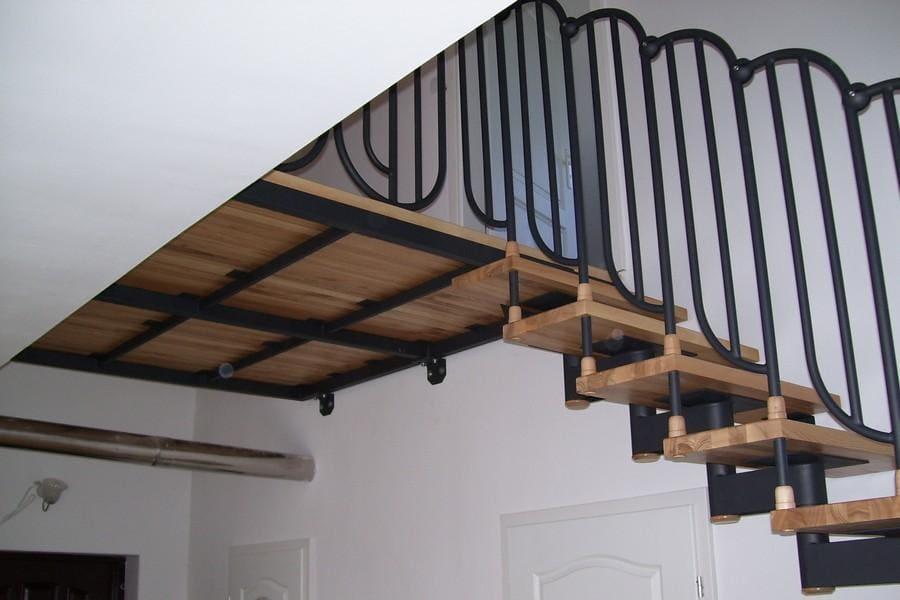 balustrady balkonowe i schodowe - realizacje 1
