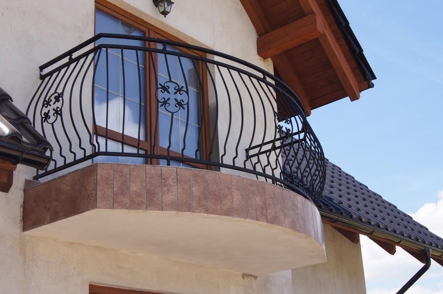balustrady balkonowe i schodowe - realizacje 2