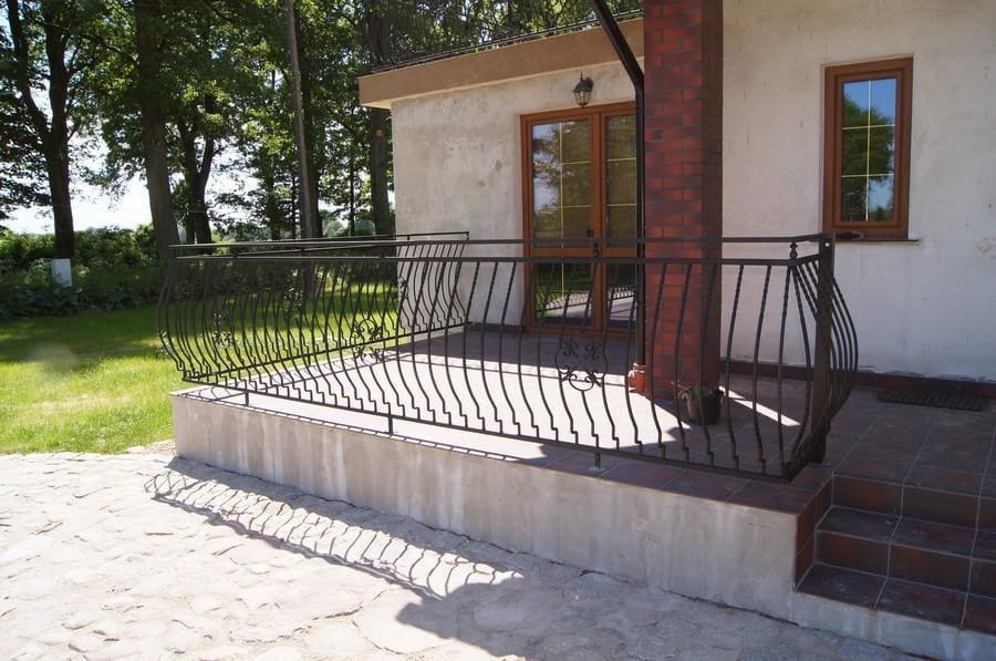 balustrady balkonowe i schodowe - realizacje 3