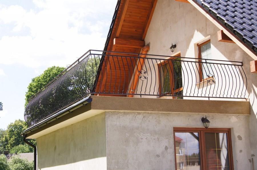 balustrady balkonowe i schodowe - realizacje 4