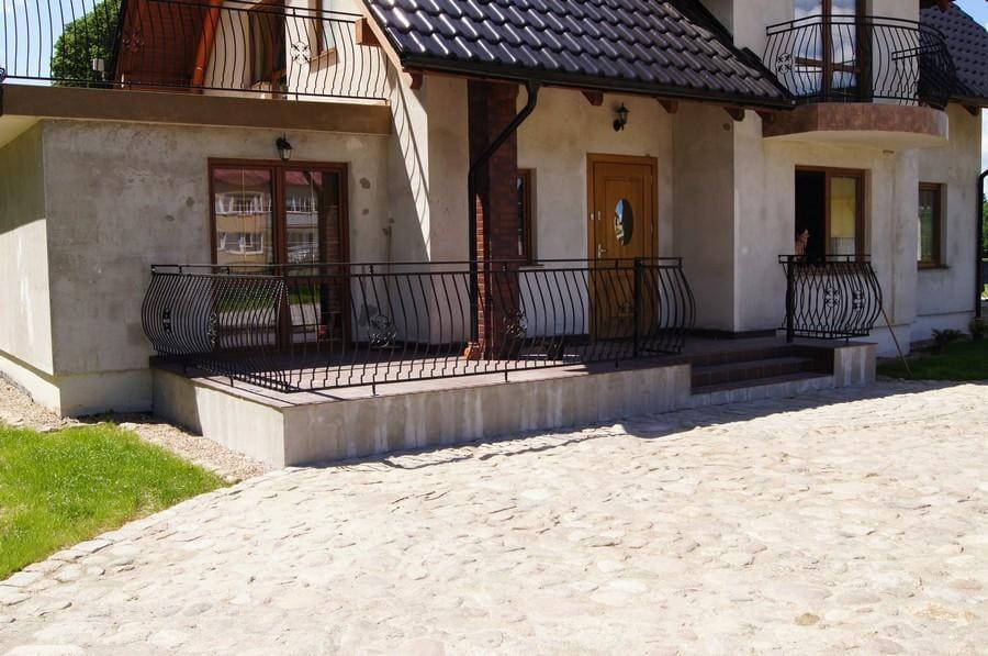 balustrady balkonowe i schodowe - realizacje 5
