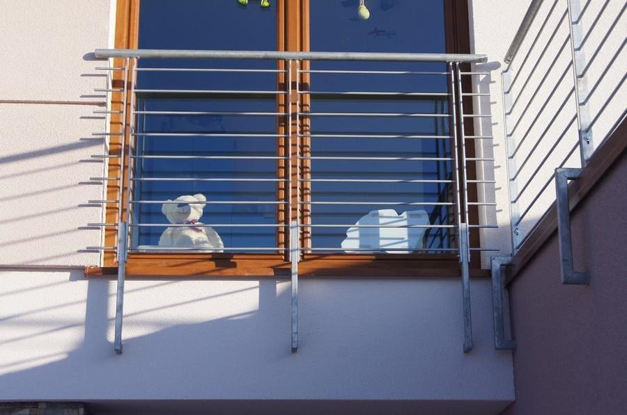 balustrady balkonowe i schodowe - realizacje 6
