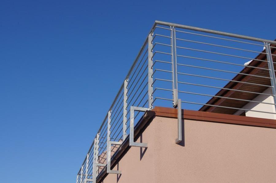 balustrady balkonowe i schodowe - realizacje 7