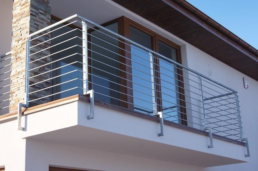 balustrady balkonowe i schodowe - realizacje 8