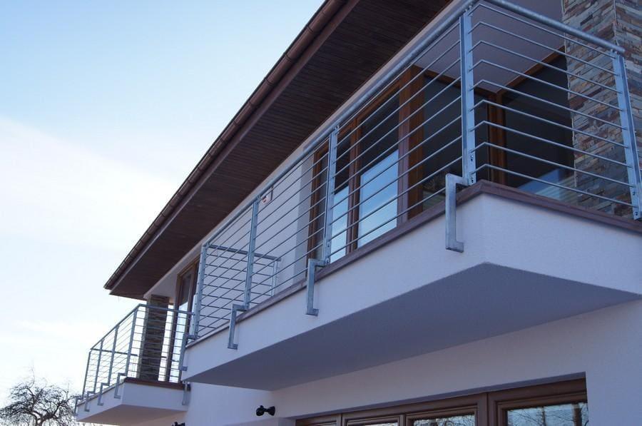 balustrady balkonowe i schodowe - realizacje 9