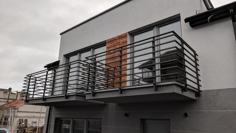 balustrady balkonowe i schodowe - realizacje 13