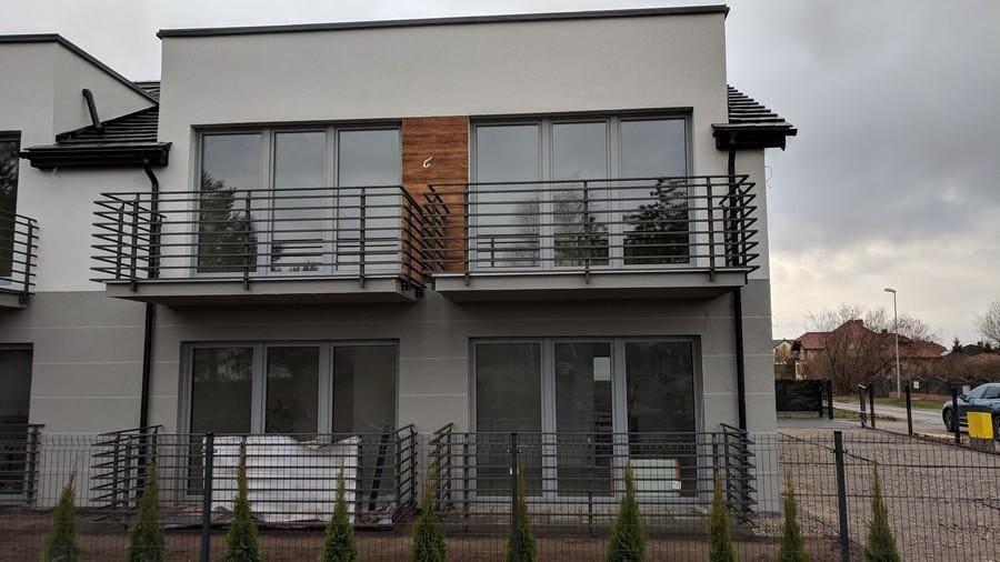 balustrady balkonowe i schodowe - realizacje 15