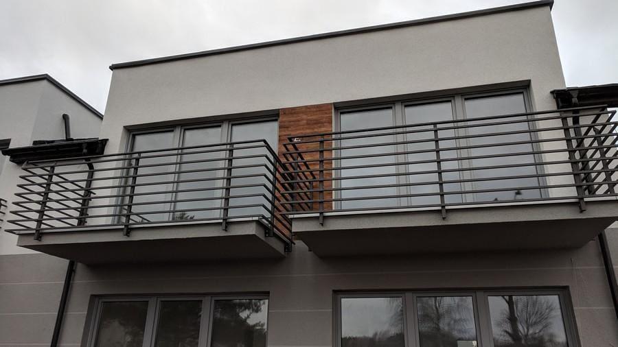 balustrady balkonowe i schodowe - realizacje 16