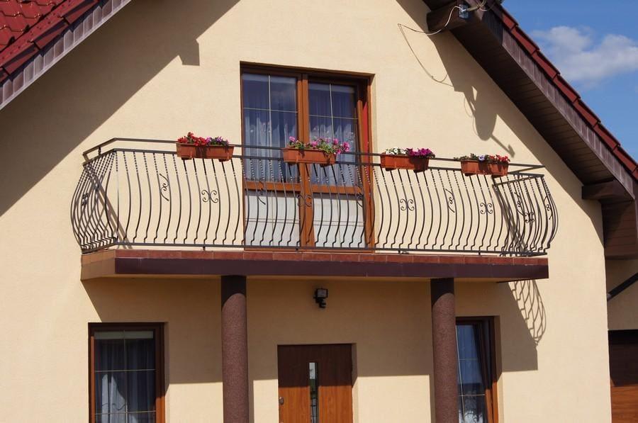 balustrady balkonowe i schodowe - realizacje 20