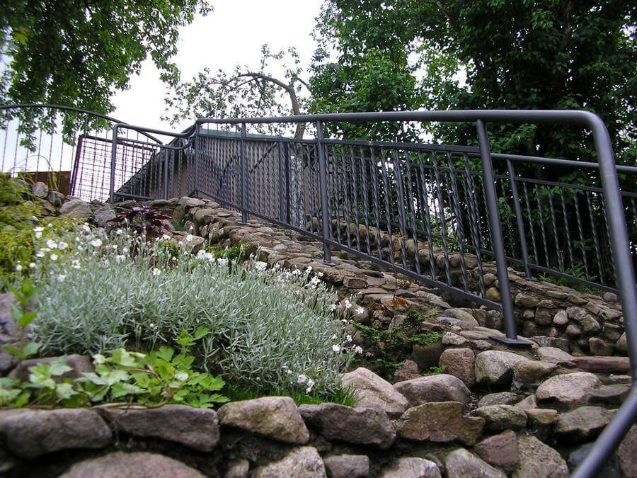 balustrady balkonowe i schodowe - realizacje 22