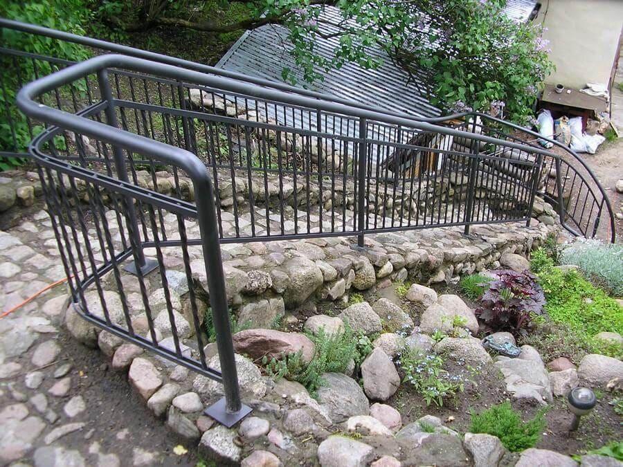 balustrady balkonowe i schodowe - realizacje 23