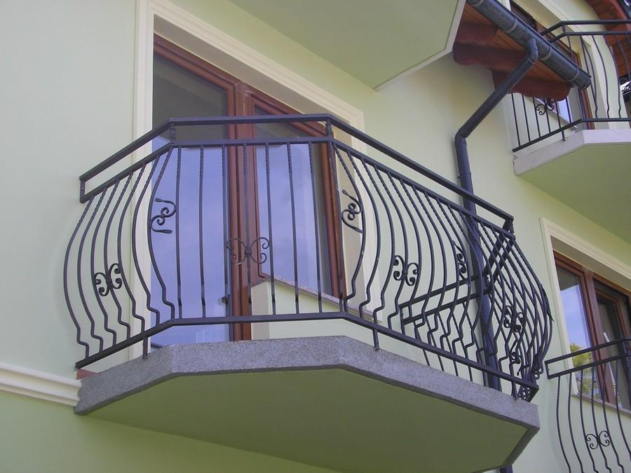 balustrady balkonowe i schodowe - realizacje 24