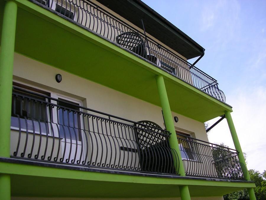 balustrady balkonowe i schodowe - realizacje 26