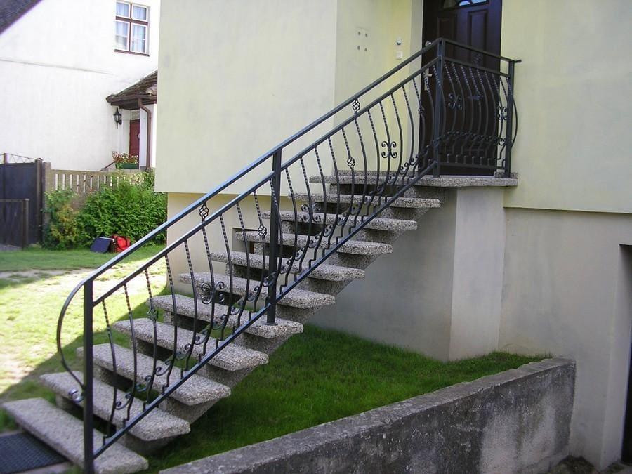 balustrady balkonowe i schodowe - realizacje 27