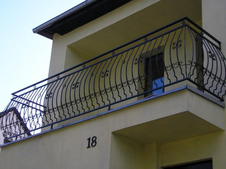 balustrady balkonowe i schodowe - realizacje 28