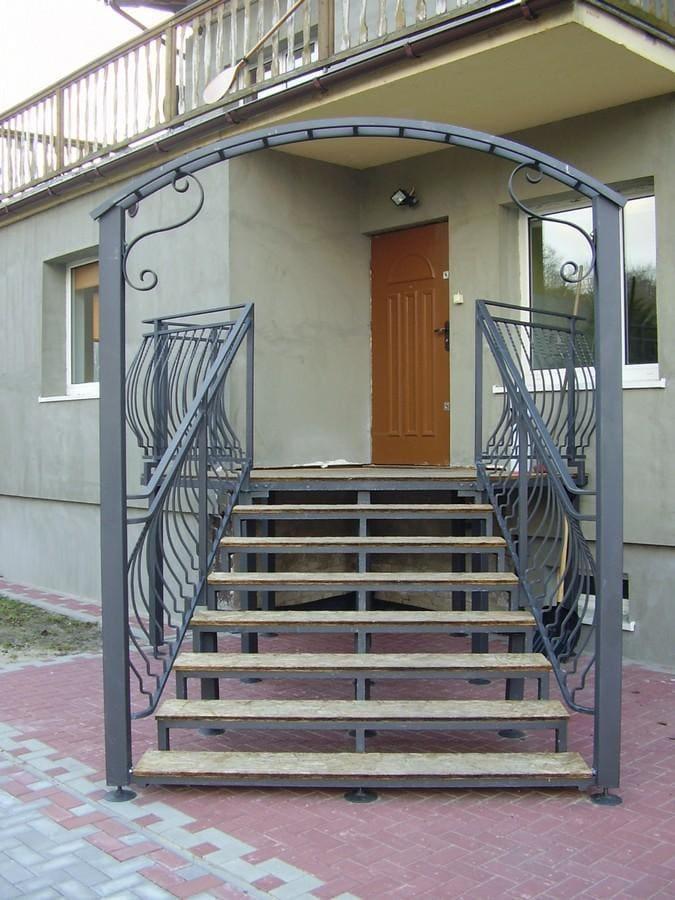 balustrady balkonowe i schodowe - realizacje 29