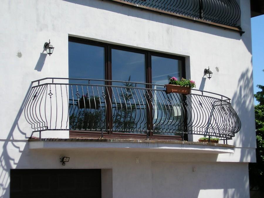 balustrady balkonowe i schodowe - realizacje 30