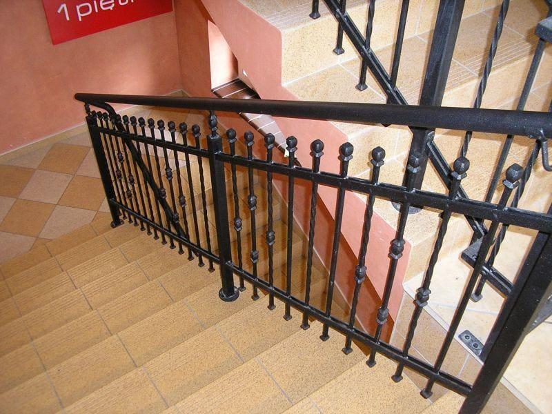 balustrady schodowe wewnętrzne