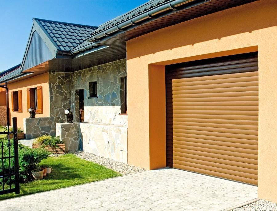 bramy garażowe - realizacje 2