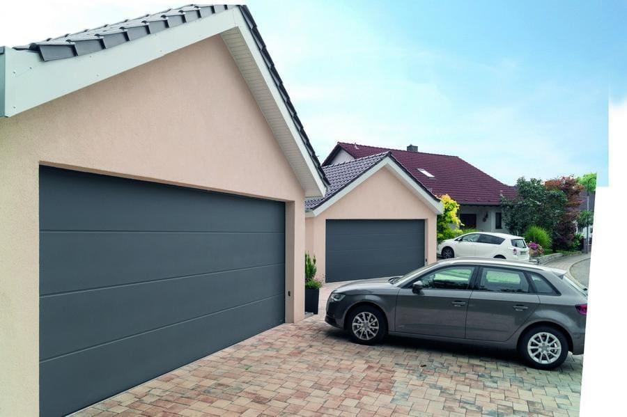 bramy garażowe - realizacje 8