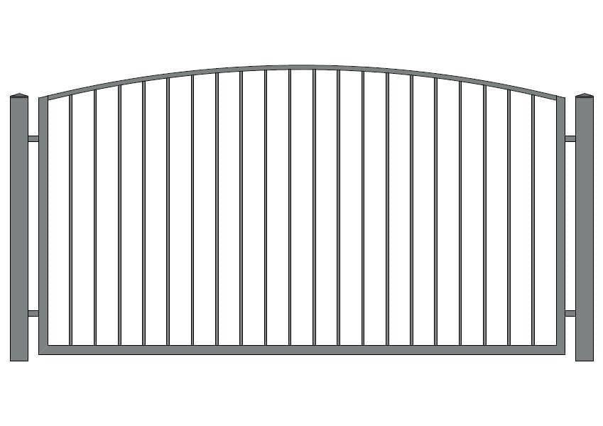 wzór ogrodzeń klasycznych K-15