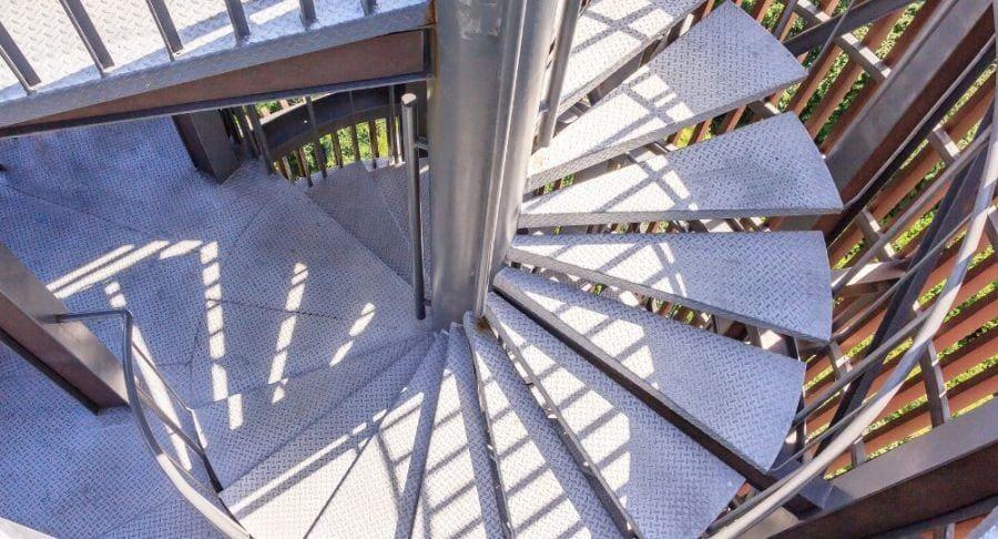 schody kręte