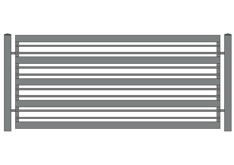 ogrodzenie wzór N-20
